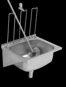 LDS hospital cleaner sink (drip sink)
