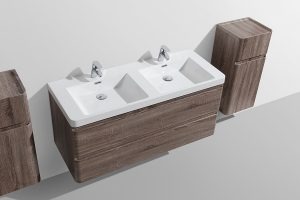 Milan 1200 wall hung vanity drawers