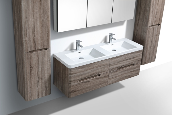 Bathroom vanities wall hung vanities bathroom cabinets for Modern bathrooms south africa