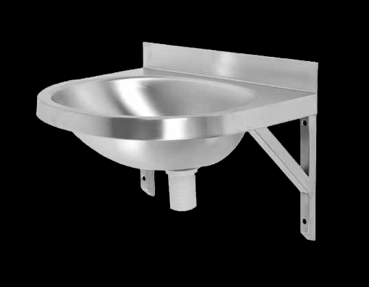 Oval B Wall Mount Stainless Steel Basin Chilli B