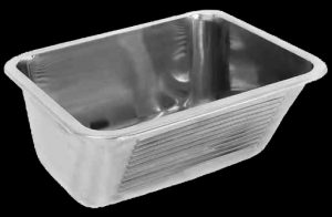 SIRX342 wash trough made from stainless steel
