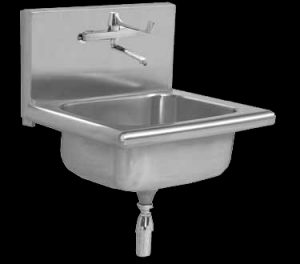 SMS hospital mini surgeon scrub sink