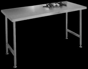 Stainless steel table catering
