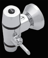Walcro curved back or flat back trough urinal flush valve