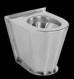 Franke HDTX597 back to wall stainless steel toilet