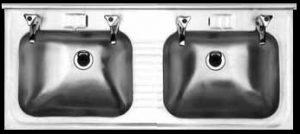 WB001 double wall hung basin