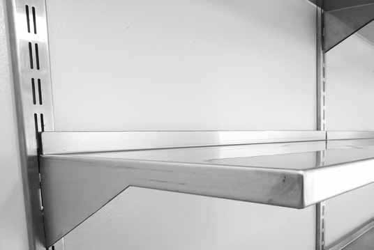z-series stainless steel shelving