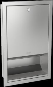 Franke Rrodan RODX600E recessed paper towel dispenser