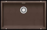Large brown colour single bowl undermount kitchen sink