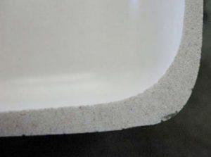 Stonebuilt granite kitchen sink material