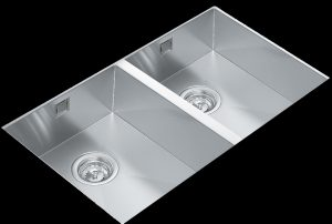Linea R15 2B 740 double bowl under mount kitchen sink Supplier