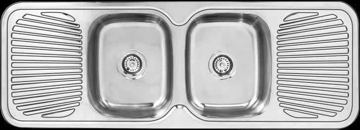 Kwikot inset kitchen sinks | Kwikot prep bowls | Fabricated ...