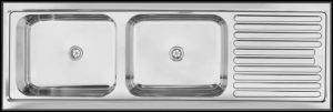 large deep bowl kitchen sink