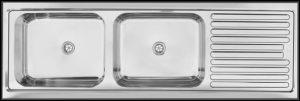 large deep bowl kitchen sink