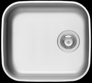 Single undermount kitchen sink