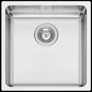Kwikot Lydia 400 square modern undermount kitchen sink