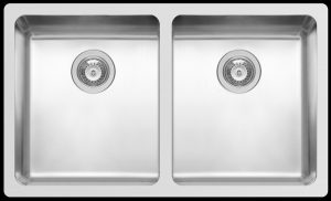 Kwikot modern double undermount kitchen sink