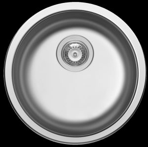 Kitchen prep bowl without tap landing