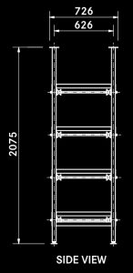 T4 single body rack diagram