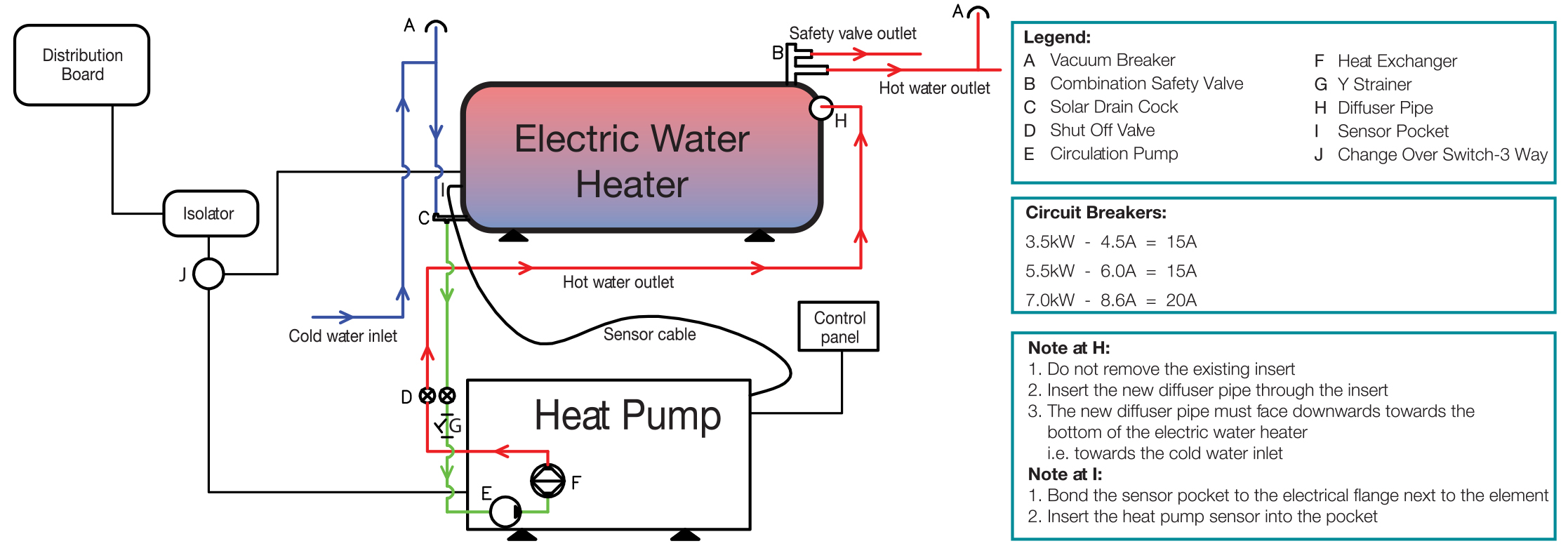 Heat Pumps Industrial Commercial Residential Cost Saving J 380 Circuit Board Wiring Diagram Pump Installation Instructions