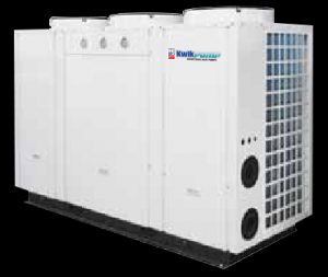 Industrial heat pump 62kW 1330l/hr