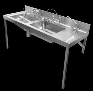 350052 Combination bedpan & wash-up sluice sink 2630002