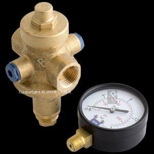 walcro prv gauge pressure reducing valve