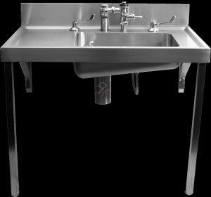 el bedpan sluice sink single bowl