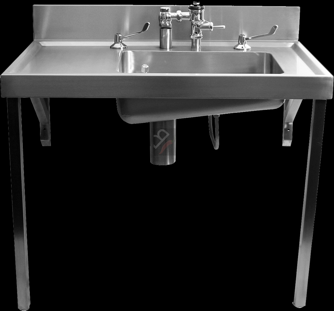 El Hospital Bedpan Sluice Sink