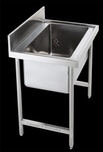 single bowl pot catering sink