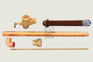 prison toilet flush valve duct concealed