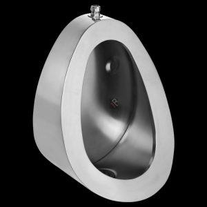 SS-URINAL-TE top entry standard bowl small urinal stainless steel