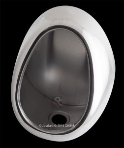 Franke Barron urinal back entry stainless steel 333200 2540055