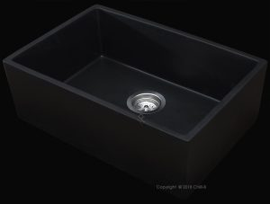 Matt Black single Butler sink
