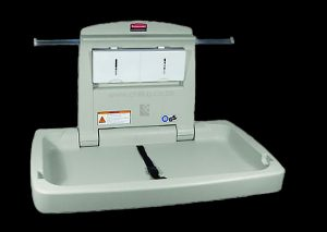 N-FG781888PLAT Rubbermaid baby changing station commercial
