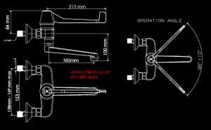 Cobra COB-507 dimensions