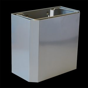 18.4L Small stainless steel heavy duty waste bin