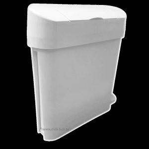 Slimline thin 22L sanibin sanitary hygienic sanbin