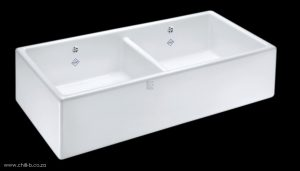 SCSH900WH SH-SHAKER-895D Shaws double ceramic butler
