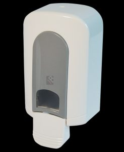 CL-00986 500ml manual white plastic soap dispenser