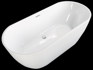 Bahama Freestanding Bath with internal overflow
