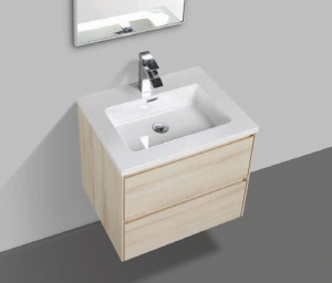 single small bathroom cabinet with basin
