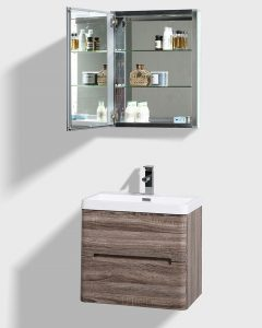 Modern oak finish bathroom vanity south africa