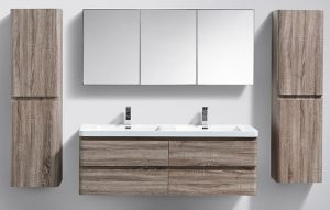 "<span style=""font-size: 14px;"">Delightful double basin bathroom vanities Click on the image to go to this page</span>"