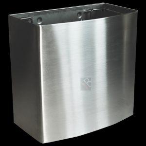 18L liter litre stainless steel waste bin