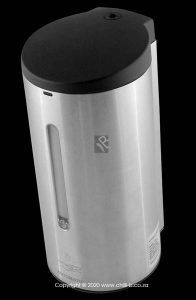 automatic stainless steel hand sanitizer