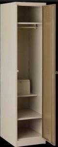 TR-LO25SP Hostel locker with top shelf, hang rail
