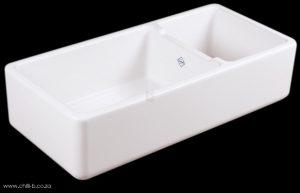 large double bowl butler ceramic ktichen sink