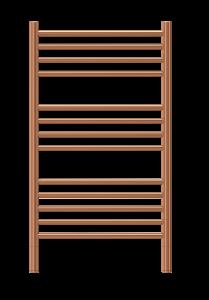 gold towel warmer