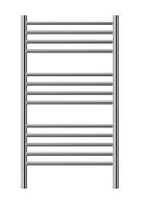 stainless steel classic-c jeeves heated towel rail